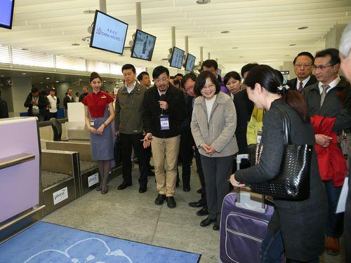 <空港線>台北駅の搭乗手続きカウンター運用開始