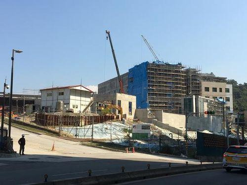 台北市内湖区に建設中のAITの新しい事務所