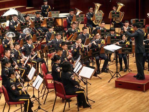 軍楽隊が音楽会 抗日戦争を意識の楽曲など披露/台湾