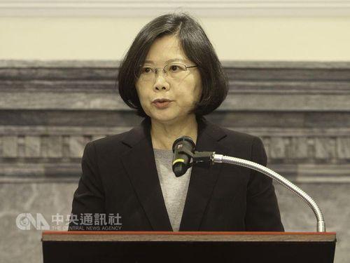 蔡総統の支持率上昇  総統府「国の発展に自信を感じたのでは」/台湾