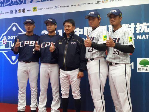 台湾プロ野球の6冠王、侍との対戦に意気込み「全投手から安打を」