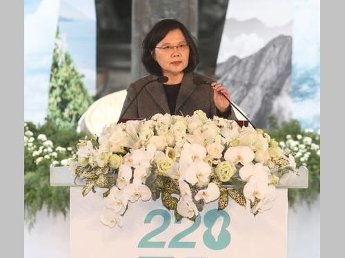 二・二八事件:移行期の正義促進条例、今国会での成立目指す=蔡総統/台湾