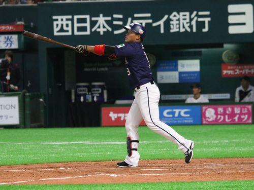 台湾プロ選抜、侍に初勝利 「4割男」王柏融が逆転2ラン