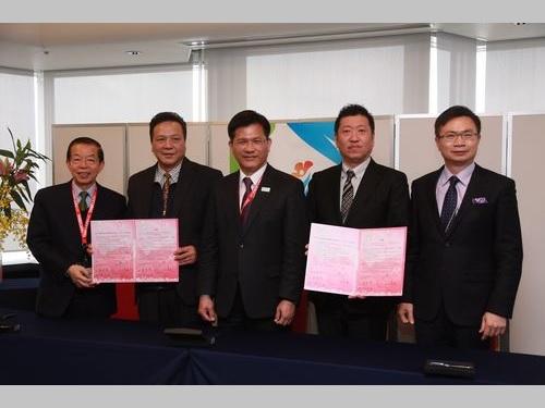 台湾産オンシジュームやユリの輸出拡大へ  日本の花き輸入業者2社と覚書
