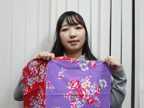 熊本の大学生、台湾を交流訪問  客家の花布に関心寄せる