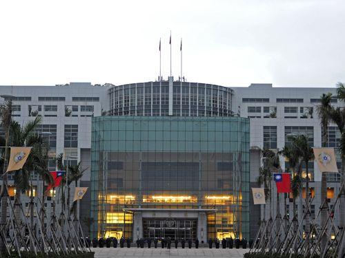 台北市内にある国防部庁舎
