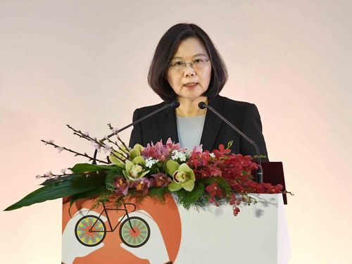 「自転車は台湾の誇り」 蔡総統、業界の努力称賛=台北サイクルショー開幕