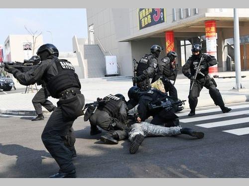 対テロ訓練センターで訓練開始 国際犯罪防止に期待/台湾