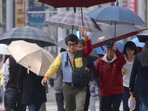 台湾全域で雨の予想 北部と北東部はやや肌寒く