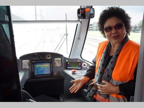 陳高雄市長が渡仏、アルストム社視察 鉄道技術の協力強化に期待