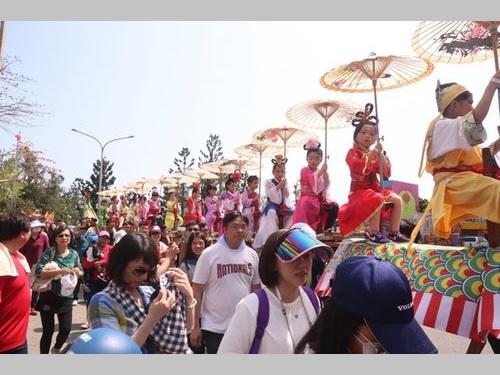 離島・金門、守護神の分祀を記念するイベント開幕 1カ月かけ祝う/台湾