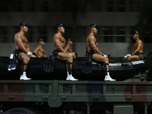 海兵隊が台北市内に初駐屯 首都防衛能力の強化へ/台湾