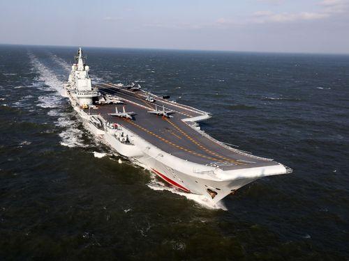 中国大陸の新空母、「台湾」と命名? 台湾からは反発と皮肉の声