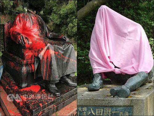 相次ぐ銅像破壊 観光ガイド「歴史の保存こそが我々の責任」/台湾