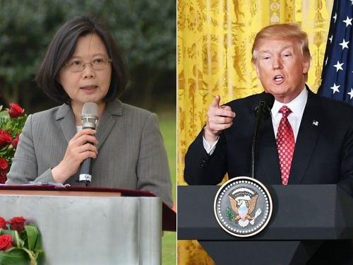 再びトランプ氏と電話会談か 蔡総統、可能性を示唆/台湾