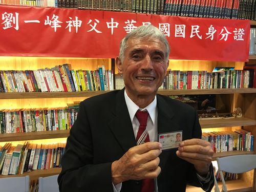 台湾に来て51年  フランス出身の神父、念願の身分証を取得