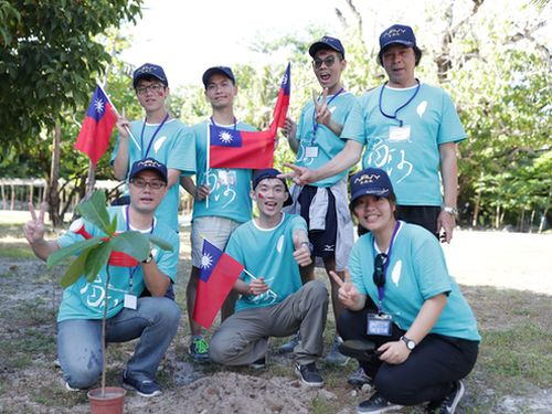 南シナ海で研修キャンプ 台湾の大学院生らが参加 国防部、主権をアピール