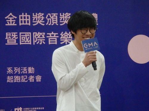 クラウド・ルー、金曲奨は「たくさんノミネートされたい」/台湾