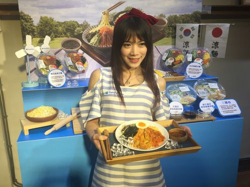 台湾ファミマ、日本の製麺技術を採用  夏の冷麺市場に攻め入る