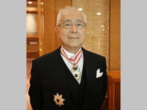 許世楷元駐日代表「台湾は中国との関係考えるべき」=皇居で勲章伝達式出席