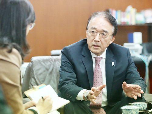 日本の駐台代表、台湾のWHO総会参加に支持を表明 期間中の協力も約束