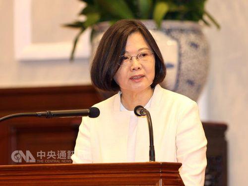 蔡英文総統「自分は強い改革の志を持つ指導者」/台湾