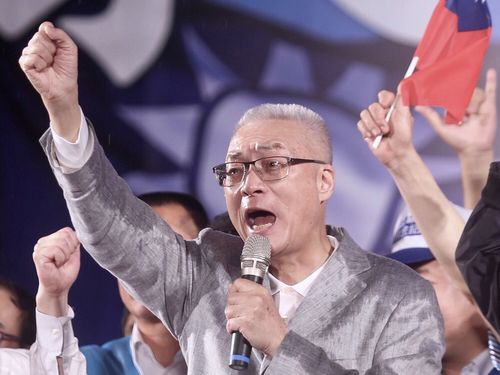 国民党主席選挙、呉敦義氏が勝利 馬英九前政権の副総統/台湾