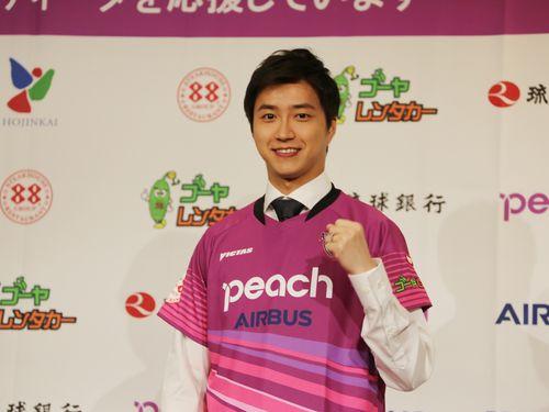 江宏傑選手、琉球アスティーダ入団 妻・福原愛も応援/台湾