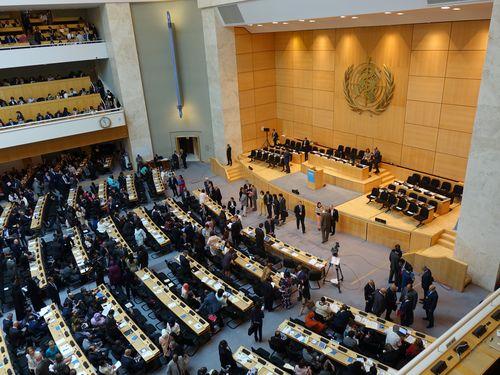 WHO総会 日米など18カ国が台湾の参加を支持