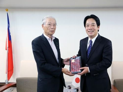 JA山形中央会会長ら、台南市長を訪問 交流強化目指す/台湾