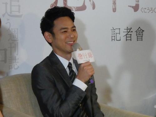 妻夫木聡「女の子のお父さんになりたい」=台湾で主演映画PR