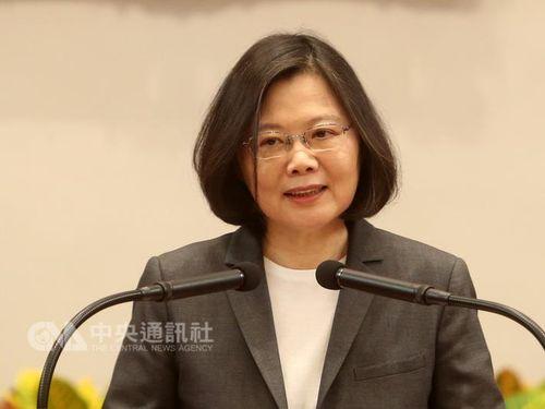民主化への移行に台湾の経験を 蔡総統、中国大陸に呼びかけ