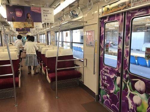 台湾観光のラッピング列車、山陽電鉄で運行 関西に向けてPR強化