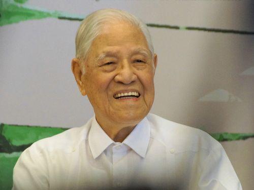 李登輝氏、「台湾の憲法は時代遅れ」 改憲の必要性訴える