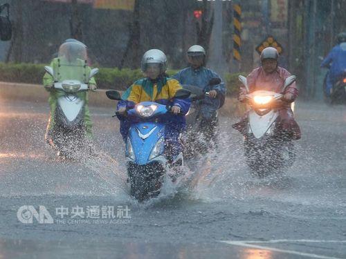 気象局が災害への備え呼び掛け 梅雨前線接近で/台湾