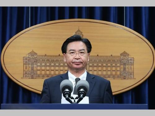 総統府の呉ショウ燮秘書長