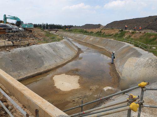 桃園空港、新たな排水施設完成  梅雨や台風シーズンの問題解決図る/台湾