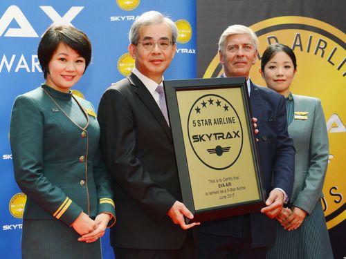 台湾・エバー航空、世界6位に 最高評価「5つ星」2年連続=英調査会社