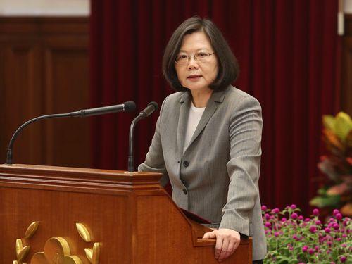 蔡総統、日本に謝意示す=台湾のTPP参加を巡る菅氏の発言を受け