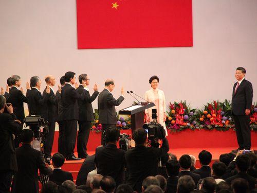 <香港返還20年>  香港住民は民主と改革を希望=台湾・総統府