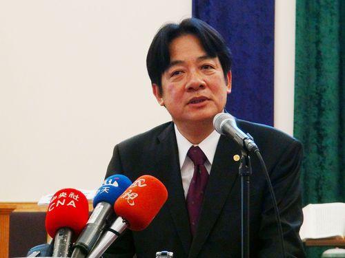頼清徳台南市長