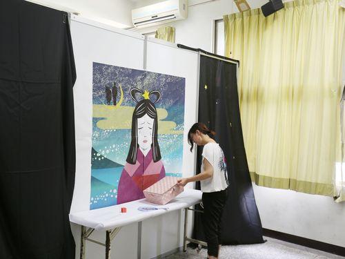 日台が共同開発  七夕がテーマの心理学アトラクションお披露目