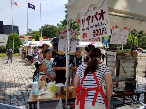 群馬で台湾フェア  気温34度の中「魯肉飯」に長蛇の列
