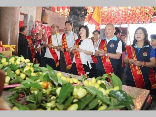 ナツメの収穫最盛期到来 台湾唯一の産地・苗栗で豊作祈願