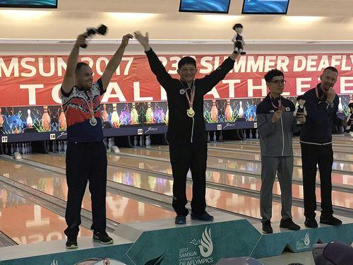 聴覚障害者の五輪 台湾、ボウリング男子で今大会初の金