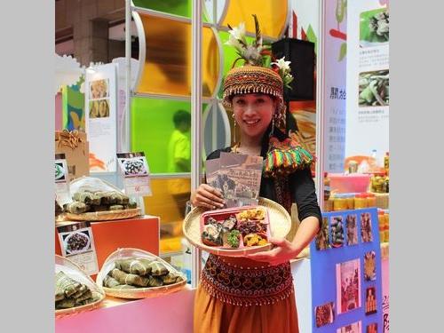 台湾美食展、原住民族フードが話題に「アワ」を使ったドーナツやピザで