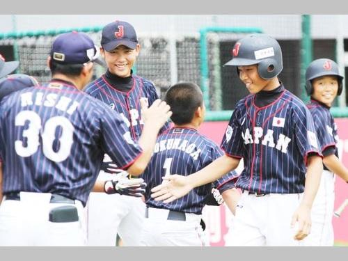 仁志監督率いる侍ジャパン、白星発進=台湾開催のU12W杯