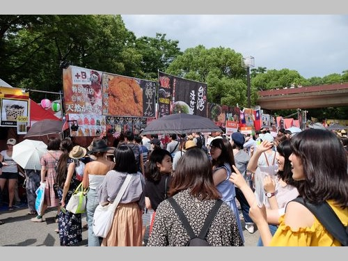 代々木公園で台湾フェスタ  多くの来場客がグルメに舌鼓