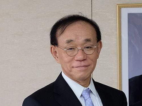 日本台湾交流協会の谷崎泰明理事長