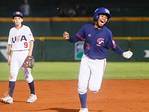 台湾、無敗の米国にコールド勝ち/野球U12W杯